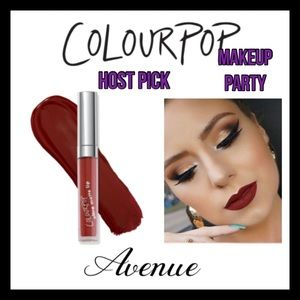 ColourPop Ultra Matte Lipstick. AVENUE NEW